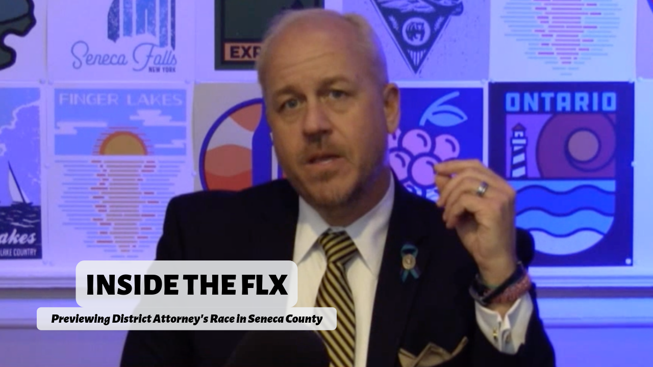 INSIDE THE FLX: Christopher Folk previews his race for Seneca County District Attorney (podcast)
