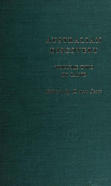 Australian discovery by Scott, Ernest Sir