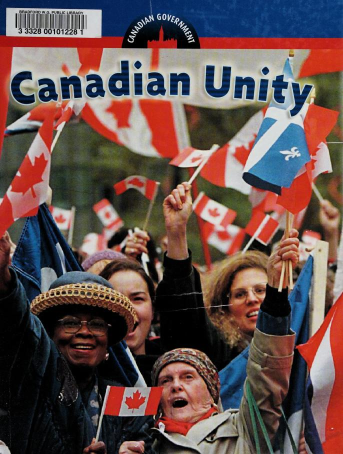 Canadian unity by [editor, Don Wells].