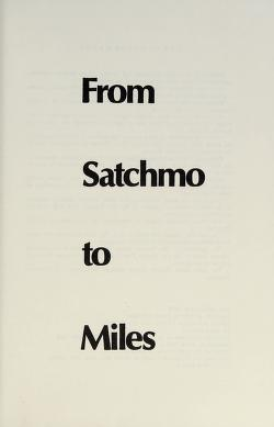 Cover of: From Satchmo to Miles | Leonard Feather