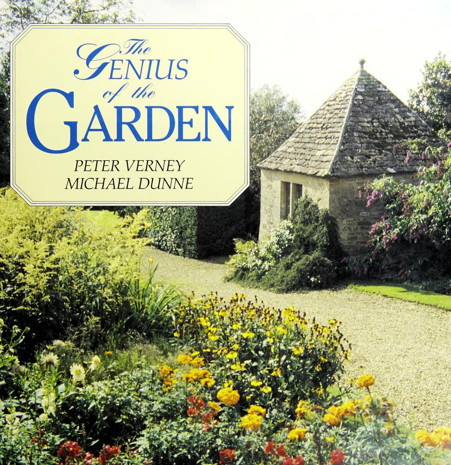 The genius of the garden by Peter Verney