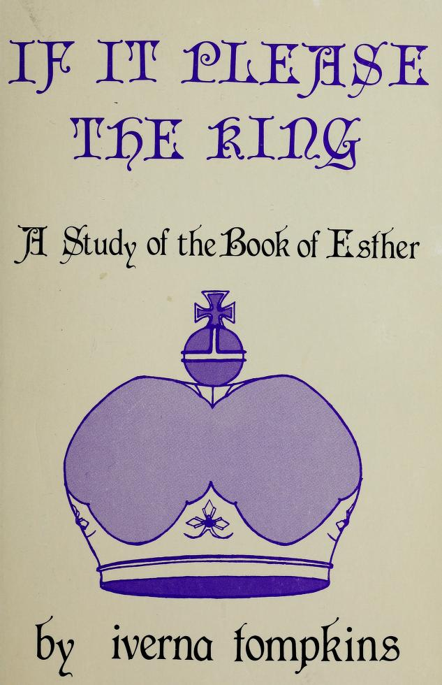 If It Please the King by Tompkins Iverna M.
