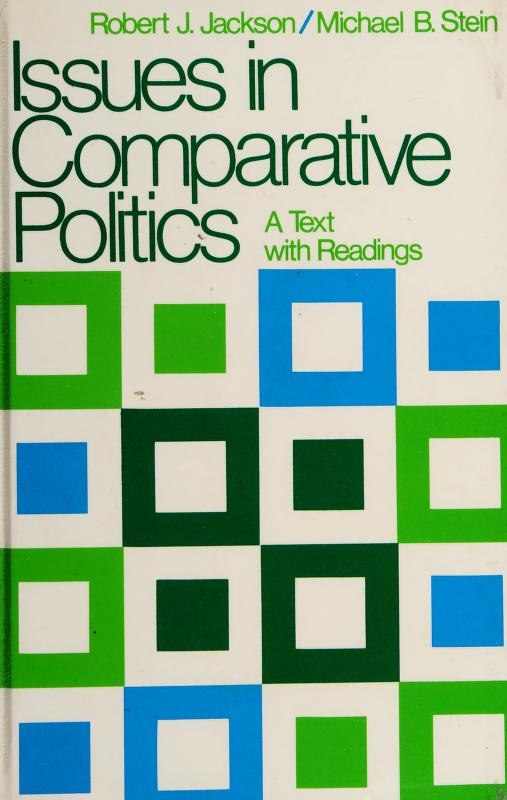 Issues in comparative politics by Robert J. Jackson