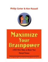 Cover of: Maximize your brainpower