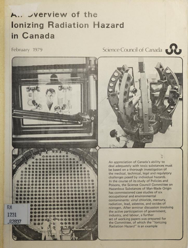 An overview of the ionizing radiation hazard in Canada by J. Basuk