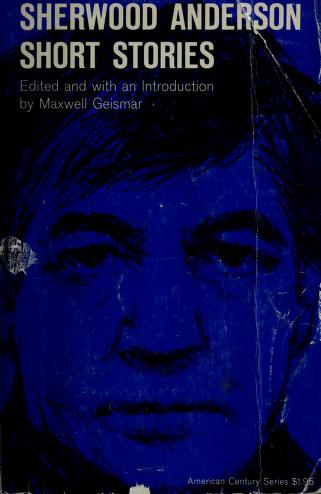 Cover of: Sherwood Anderson | Sherwood Anderson