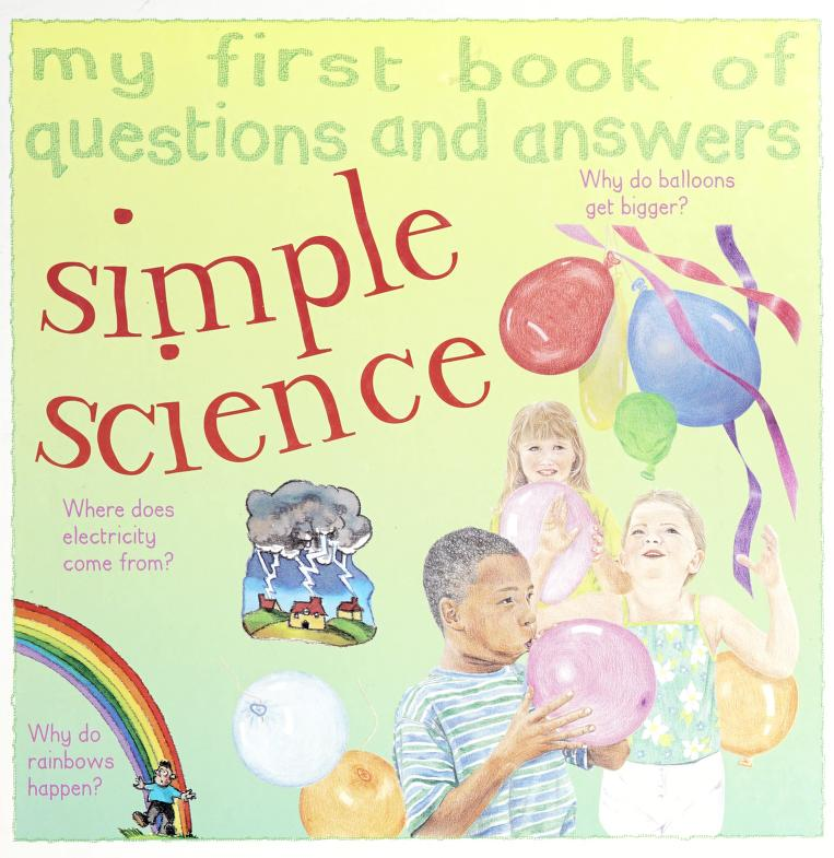 My First Book of Questions and Answers by Rosie Greenwood