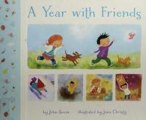 Cover of: A year with friends | John Seven